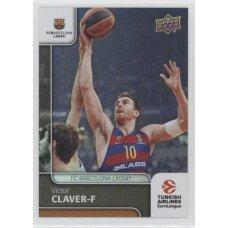 Коллекционная карточка 2016-17 Euroleague #1 VICTOR CLAVER (FC Barcelona Lassa)