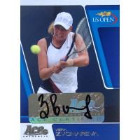 ВЕРА ЗВОНАРЕВА (автограф) 2008 Ace Authentic US Open