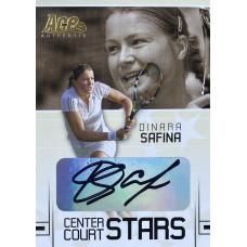 ДИНАРА САФИНА (автограф) 2006 Ace Authentic Center Court Stars