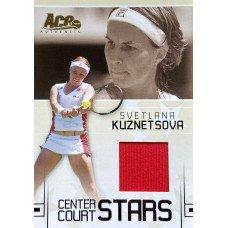 СВЕТЛАНА КУЗНЕЦОВА (джерси) 2006 Ace Authentic Center Court Stars
