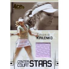 МАРИЯ КИРИЛЕНКО (джерси) 2006 Ace Authentic Center Court Stars