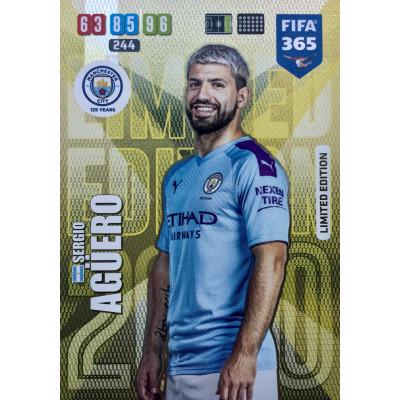 СЕРХИО АГУЭРО (Манчестер Сити) 2020 Panini FIFA 365 Adrenalyn XL. Limited Edition