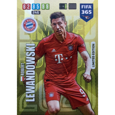 РОБЕРТ ЛЕВАНДОВСКИ (Бавария) 2020 Panini FIFA 365 Adrenalyn XL. Limited Edition