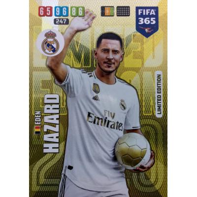 ЭДЕН АЗАР (Реал Мадрид) 2020 Panini FIFA 365 Adrenalyn XL. Limited Edition