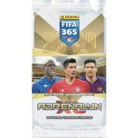 1 пакетик (6 карточек) по коллекции 2020 Panini Adrenalyn XL FIFA 365.