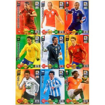2010 FIFA World Cup Adrenalyn XL сет из 326 карточек.