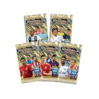 5 пакетиков (по 6 карточек) по коллекции Adrenalyn XL FIFA 365 - 2019. Panini.