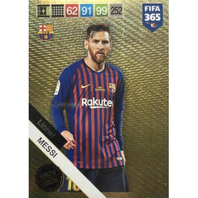 ЛИОНЕЛЬ МЕССИ (Барселона) 2019 Panini FIFA 365 Adrenalyn XL. Limited Edition XXL