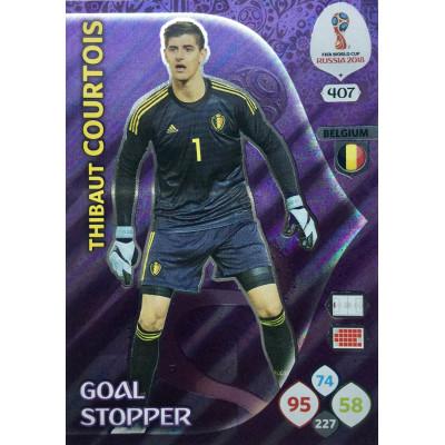 ТИБО КУРТУА (Бельгия) Panini Adrenalyn XL FIFA World Cup 2018 Goal Stopper