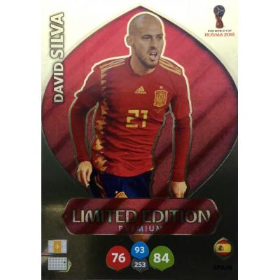 ДАВИД СИЛЬВА (Испания) Panini Adrenalyn XL FIFA World Cup 2018. Limited Edition Premium.