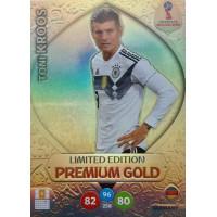 ТОНИ КРООС (Германия) Panini Adrenalyn XL FIFA World Cup 2018. Limited Edition Premium Gold.