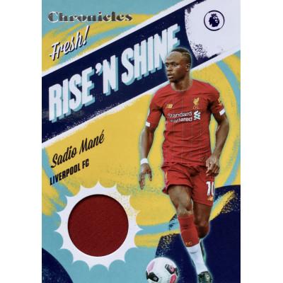 САДИО МАНЕ (Ливерпуль) 2019-20 Panini Chronicles Rise'n Shine Soccer (джерси)