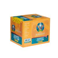 1 блок (50 пакетиков по 5 наклеек) Panini UEFA Euro 2020 Tournament Edition