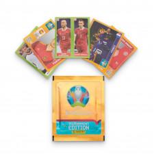1 пакетик (5 наклеек) Panini UEFA Euro 2020 Tournament Edition