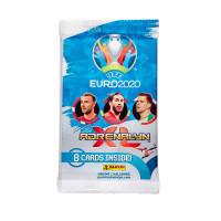 1 пакетик (8 карточек) по коллекции Panini Euro 2020 Adrenalyn XL