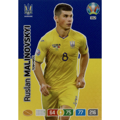 РУСЛАН МАЛИНОВСКИЙ (Украина) Panini Adrenalyn XL Euro 2020