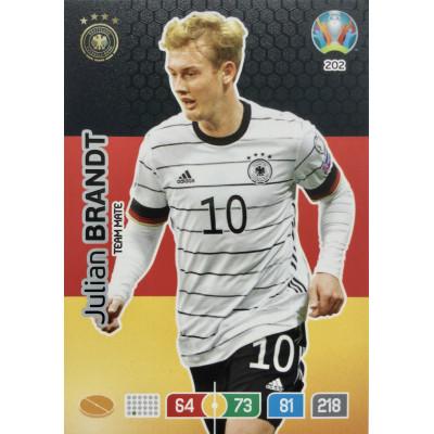 ЮЛИАН БРАНДТ (Германия) Panini Adrenalyn XL Euro 2020