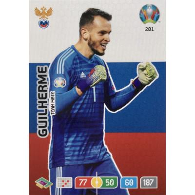 ГИЛЬЕРМЕ (Россия) Panini Adrenalyn XL Euro 2020