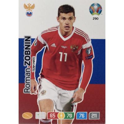 РОМАН ЗОБНИН (Россия) Panini Adrenalyn XL Euro 2020