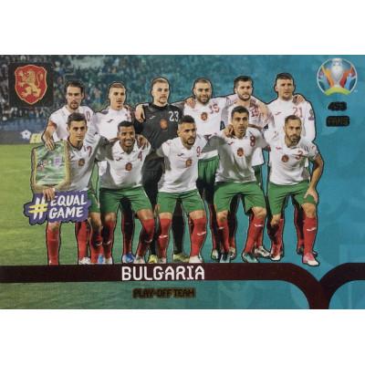 БОЛГАРИЯ Panini Adrenalyn XL Euro 2020 Play-Off Team