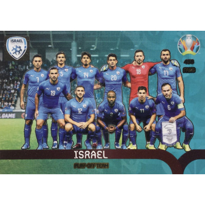 ИЗРАИЛЬ Panini Adrenalyn XL Euro 2020 Play-Off Team