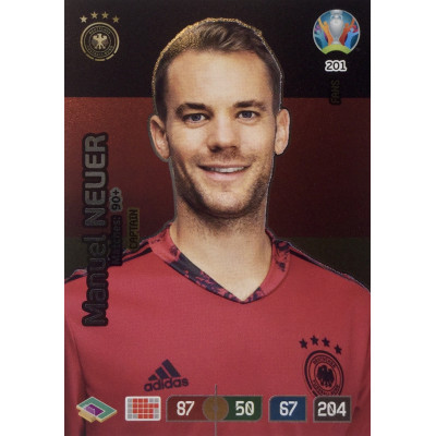 МАНУЭЛЬ НОЙЕР (Германия) Panini Adrenalyn XL Euro 2020 Fans Captain