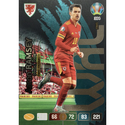 ААРОН РЭМЗИ (Уэльс) Panini Adrenalyn XL Euro 2020 Fans Favourite
