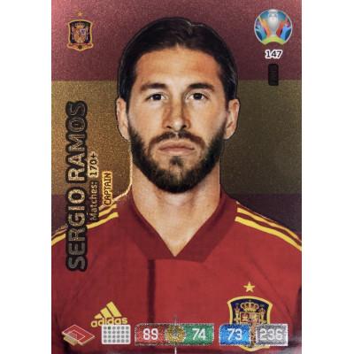 СЕРХИО РАМОС (Испания) Panini Adrenalyn XL Euro 2020 Fans Captain