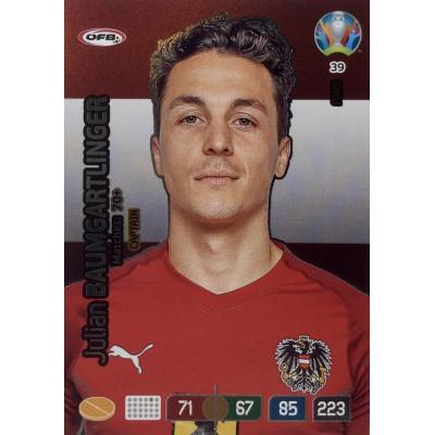 ЮЛИАН БАУМГАРТЛИНГЕР (Австрия) Panini Adrenalyn XL Euro 2020 Fans Captain