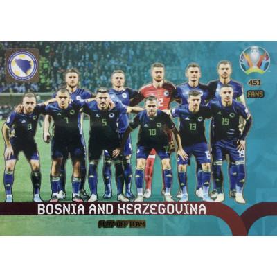 БОСНИЯ И ГЕРЦЕГОВИНА Panini Adrenalyn XL Euro 2020 Play-Off Team
