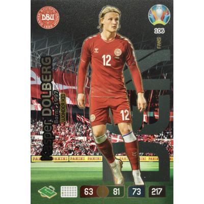 КАСПЕР ДОЛЬБЕРГ (Дания) Panini Adrenalyn XL Euro 2020 Wonder Kid