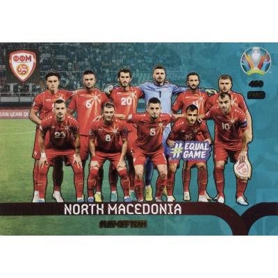 СЕВЕРНАЯ МАКЕДОНИЯ Panini Adrenalyn XL Euro 2020 Play-Off Team
