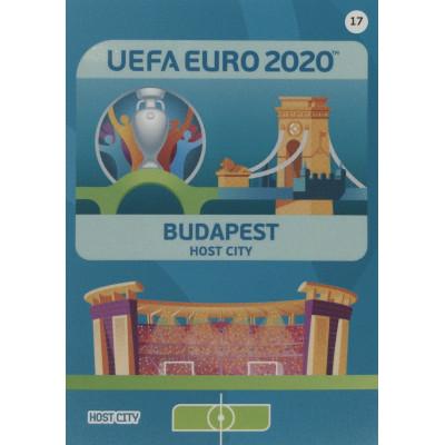 БУДАПЕШТ Panini Adrenalyn XL Euro 2020 Host City