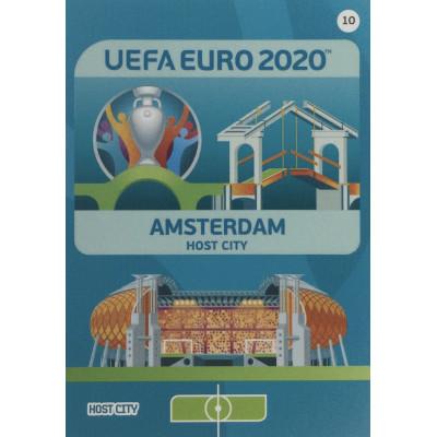 АМСТЕРДАМ Panini Adrenalyn XL Euro 2020 Host City