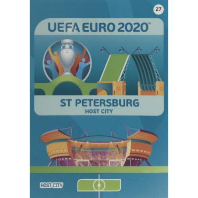 САНКТ-ПЕТЕРБУРГ Panini Adrenalyn XL Euro 2020 Host City