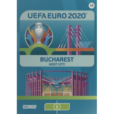 БУХАРЕСТ Panini Adrenalyn XL Euro 2020 Host City