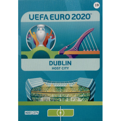 ДУБЛИН Panini Adrenalyn XL Euro 2020 Host City