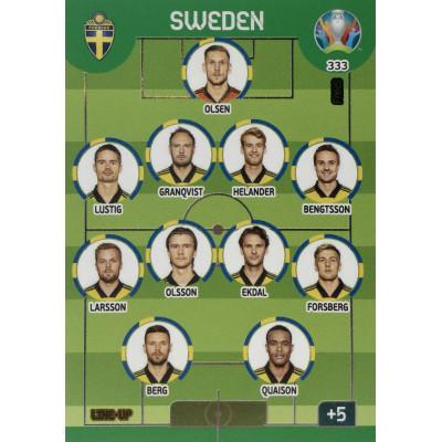 ШВЕЦИЯ Panini Adrenalyn XL Euro 2020 Line-Up