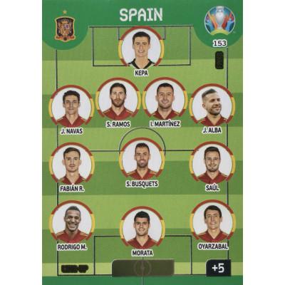 ИСПАНИЯ Panini Adrenalyn XL Euro 2020 Line-Up
