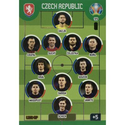 ЧЕХИЯ Panini Adrenalyn XL Euro 2020 Line-Up