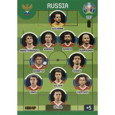 РОССИЯ Panini Adrenalyn XL Euro 2020 Line-Up