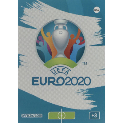 ЛОГОТИП ЕВРО 2020 Panini Adrenalyn XL Euro 2020 Official Logo