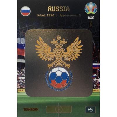 РОССИЯ (логотип) Panini Adrenalyn XL Euro 2020 Team Logo