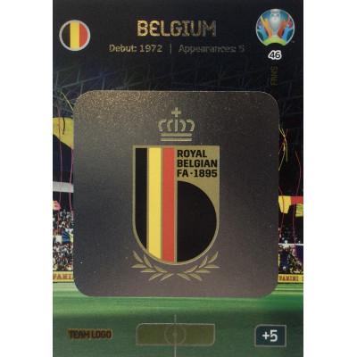 БЕЛЬГИЯ (логотип) Panini Adrenalyn XL Euro 2020 Team Logo