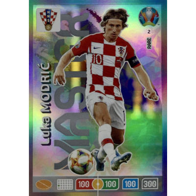 ЛУКА МОДРИЧ (Хорватия) Panini Adrenalyn XL Euro 2020 Rare Master