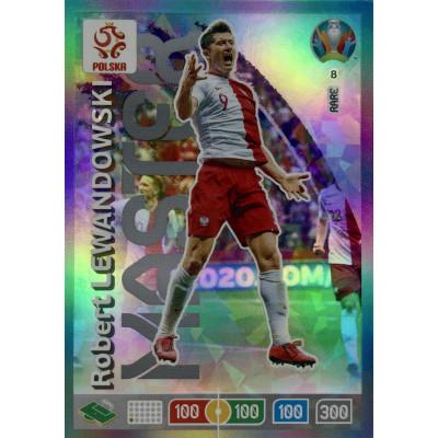 РОБЕРТ ЛЕВАНДОВСКИЙ (Польша) Panini Adrenalyn XL Euro 2020 Rare Master