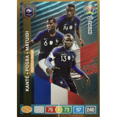 КОНТЕ, ПОГБА, МАТЮИДИ (Франция) Panini Adrenalyn XL Euro 2020 Multiple