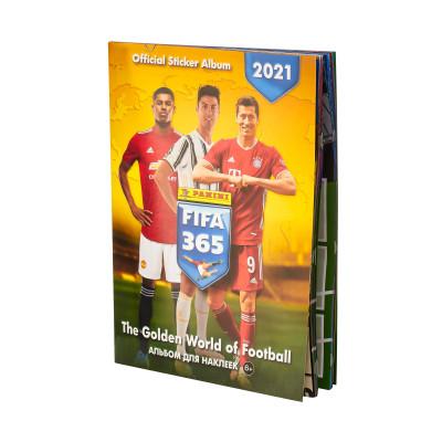 Альбом для наклеек по коллекции 2021 Panini FIFA 365