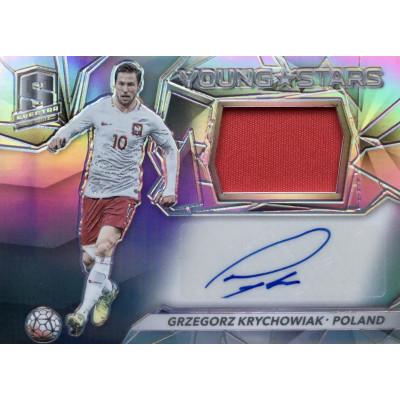 ГЖЕГОЖ КРЫХОВЯК (Польша) 2016-17 Panini Spectra Soccer (джерси-автограф)