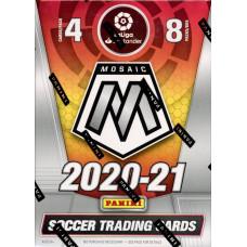 1 блок (8 пакетиков) по коллекции PANINI LaLiga Mosaic 2020-2021